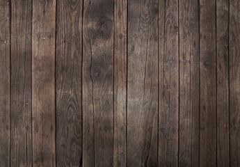 Stary tło ciemne brązowe drewniane deski tło