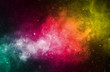 canvas print picture - galaxy 5