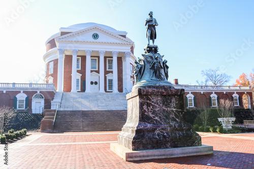 Valokuva  The Rotunda at the University of Virginia
