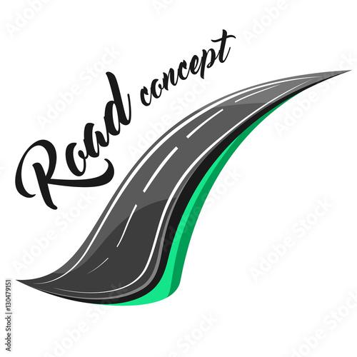 Fotografie, Obraz  Road concept