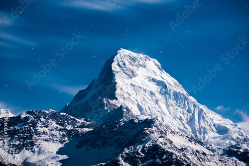 Canvas Print Himalayan mountain peak ..