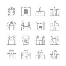Historical Ancient Castle Line...