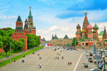 Kremlin And Cathedral Of St. B...