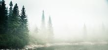 A Beautiful Mountain Lake In A...