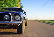 Ford Mustang OIdtimer Hintergr...