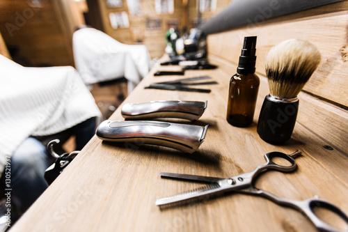 Fotografie, Obraz  Shaving stuff