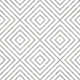 Geometric silver seamless pattern of of rhombus, square, abstract silvery diagonal striped background, vector for paper, card, invitation, wrapping, textile, web design, party - 130527174