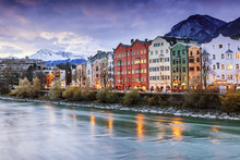 Beautiful Cityscape. Innsbruck...