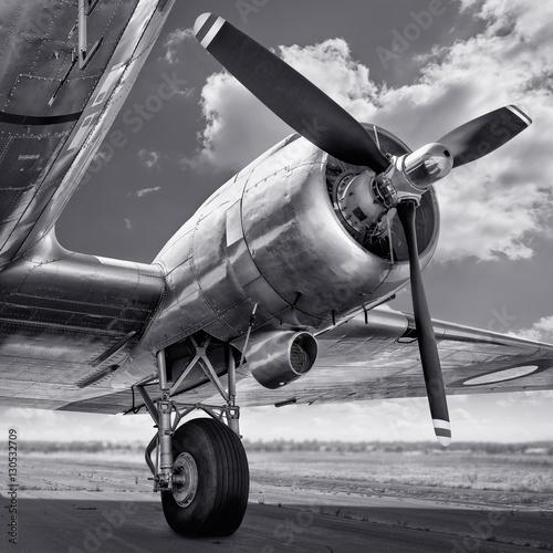 Photo propeller of an aircraft