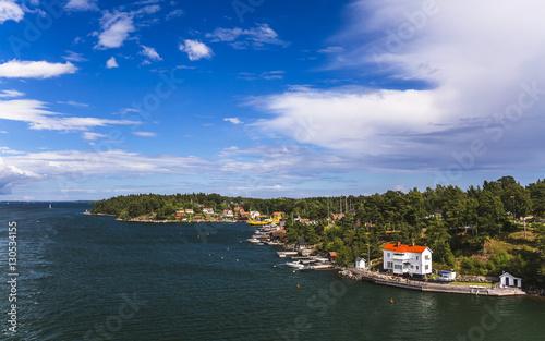 Papiers peints Scandinavie Charming islands near Stockholm, Sweden.