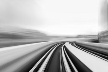 Prędkość ruchu w tunelu drogowego autostrady miejskiej