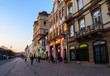 Architecture of the main street of Kosice, Slovakia, Europe
