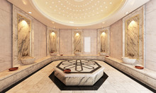 Marble Turkish Hamam, Bath Mod...