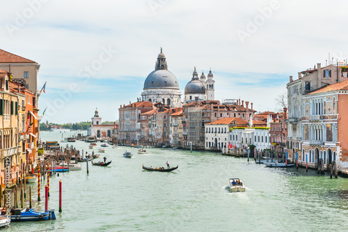 Poster Venise Grand Canal in Venice, Italy