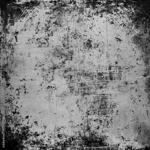 Fotografia  black steel plate texture