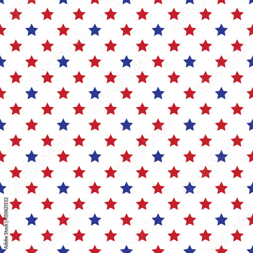 Seamless Military Or July 4th Wallpaper Seamfree Americana Patriot Background Red White And
