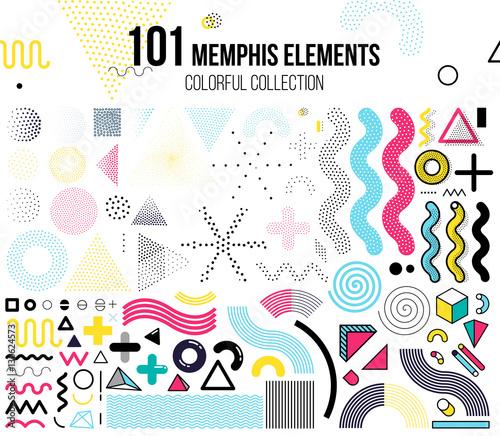 Fotografia  Mega set of design elements