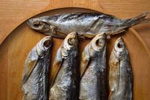 Stockfish. Sabrefish On The Table.