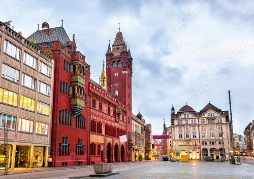 Rathaus, Basel Town Hall - Szwajcaria