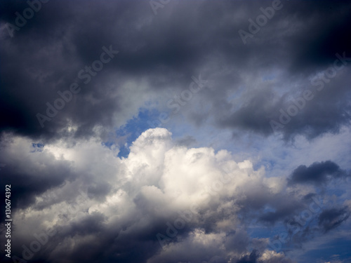 Canvas Prints Heaven Clouds in blue sky