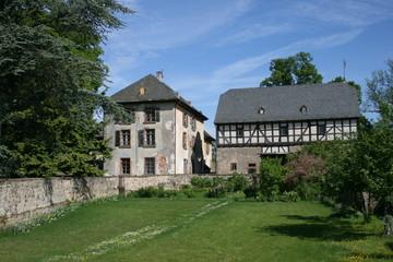 Fototapeta na wymiar Homberger Schloss