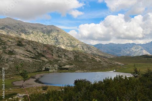 Fotografie, Obraz  The Nino Lake, GR20 trail, Corse, France.
