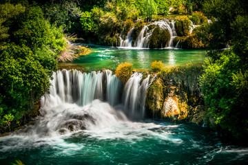 Panel Szklany Rzeki i Jeziora Waterfalls