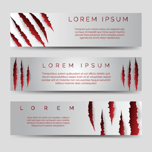 Horizontal Banners Template Wi...