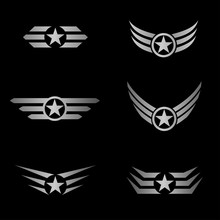 Silver Wings Emblem
