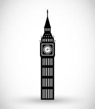 Big Ben Icon Vector