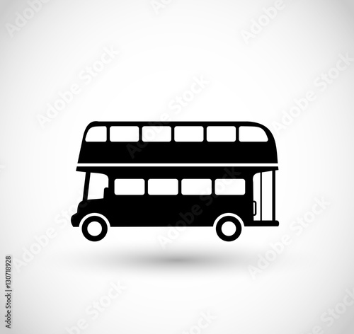 London bus vector Canvas Print