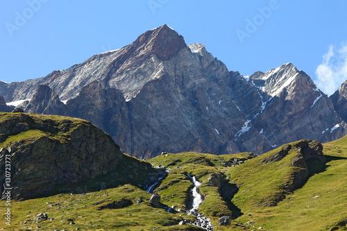 Photo Valle d'Aosta montagne Breuil Cervinia