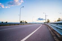 Road And Guard-rail