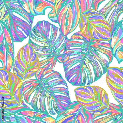 letnie-kolorowe-hawajskie-liscie