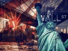 New York City Collage Includin...