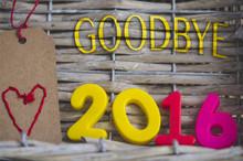 GOODBYE 2016 Jahreswechsel