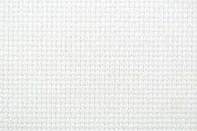 White Cross Stitch Background