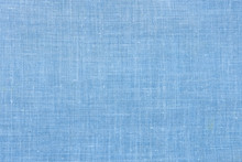 Light Blue Fabric Shot From Close Background