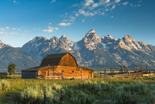 Barn At Mormon Row Grand Teton...