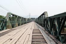 Pai Memorial Bridge, Pai, Mae Hong Son, Nothern Thailand.