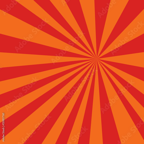 Colored red orange background