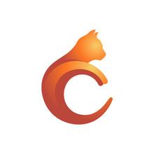 C Letter Initial Cat Kitten Sh...