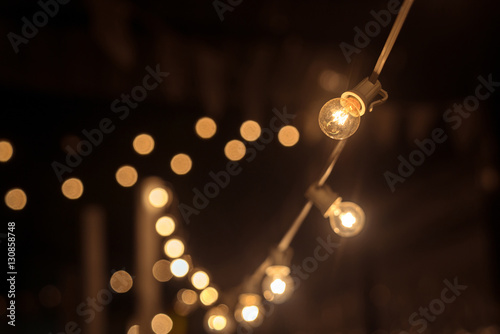 Fotografia  Garland of lights