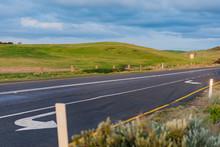 Road Way In The Great Ocean Road ,Australia