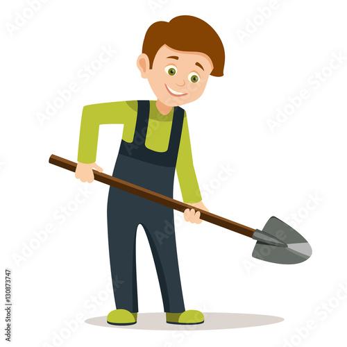 Get Shovel Dig Cartoon Images