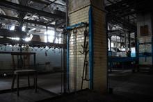 Abandoned Meat Processing Plant  Slaughterhouse Rosenau, Kaliningrad, Konigsberg