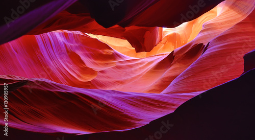 Printed kitchen splashbacks Canyon Antelope canyon