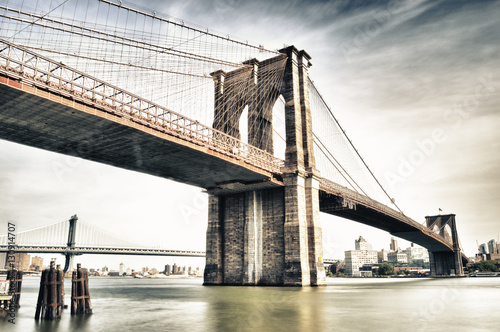 Foto auf Gartenposter Brooklyn Bridge Brooklyn Bridge.