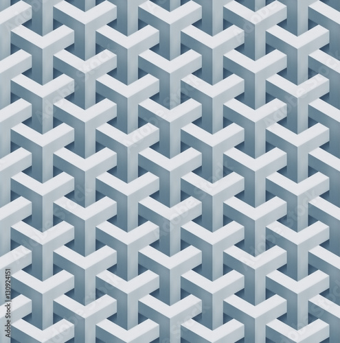 bialy-abstrakcjonistyczny-geometrical-bezszwowy-tla-3d-rendering