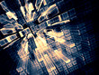 Abstract technology background - digitally generated image